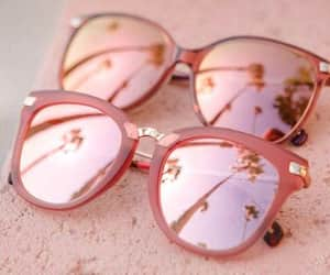 anteojos, pink, and rose gold image