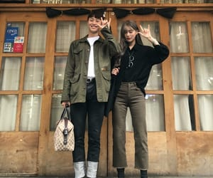 asian, couple, and duo image