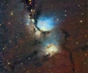 colorful, nebula, and space image