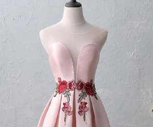 homecoming dress pink, a-line homecoming dress, and homecoming dresses pink image