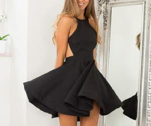 black homecoming dress and black homecoming dresses image