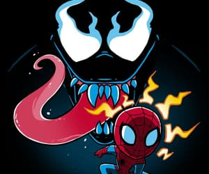 Marvel, venom, and spider-man image