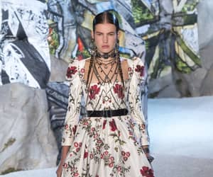 Alexander McQueen and fashion image