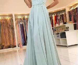 long bridesmaid dress, prom dress for cheap, and bridesmaid dress 2018 image