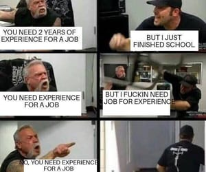 experience, job, and university image