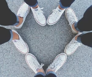 friends, heart, and tumblr image