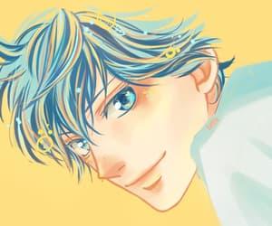 anime, ao haru ride, and anime boy image