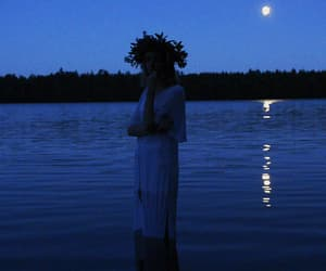 crown, midsummer, and finland image