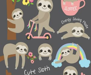 sloth, wallpaper, and background image