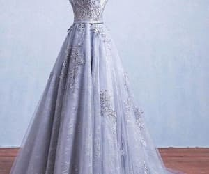 long prom dress, a-line prom dress, and prom dress ball gown image
