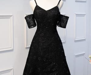 black homecoming dresses, homecoming dress lace, and homecoming dresses lace image