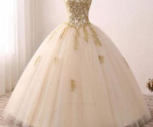 ivory dress and ball gown dress image