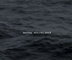 black, dearest, and typography image