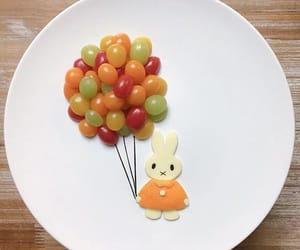 comida, conejo, and delicioso image