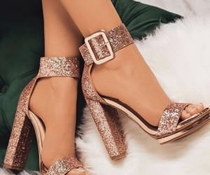 shoes, fashion, and glitter image