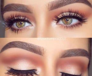 cosmetics, eyebrows, and eyelashes image
