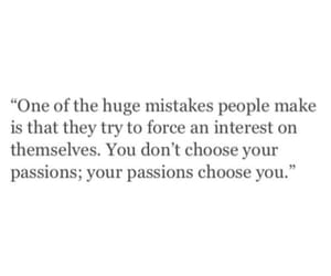 quotes, mistakes, and passion image