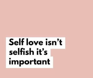 self love and quotes image