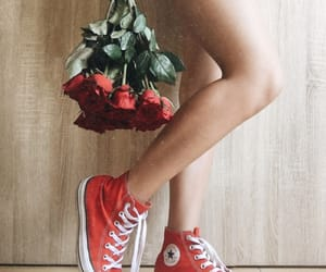 aesthetics, bouquet, and converse image