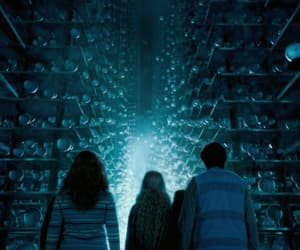 blue, film, and harry potter image