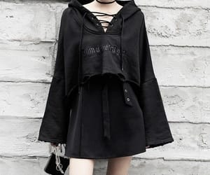 alternative, fashion, and goth image