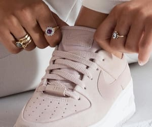 addict, light pink, and shoes image