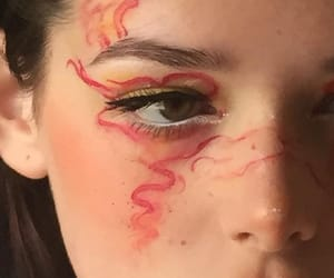 aesthetic, art, and makeup image