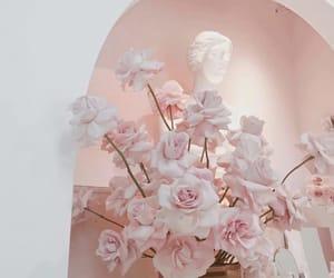 art, makeup, and pink image