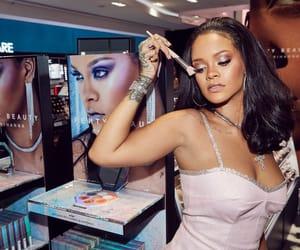 rihanna, fenty beauty, and makeup image