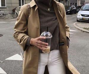 aesthetic, coat, and fashion image