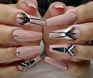 beautiful, decorated, and nails image