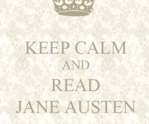 jane austen and keep calm image