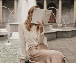 book, chic, and read image