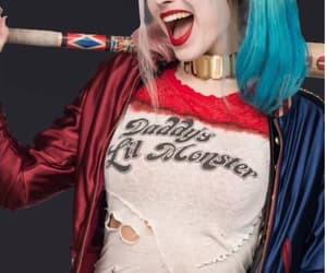 batman, blue, and clown image