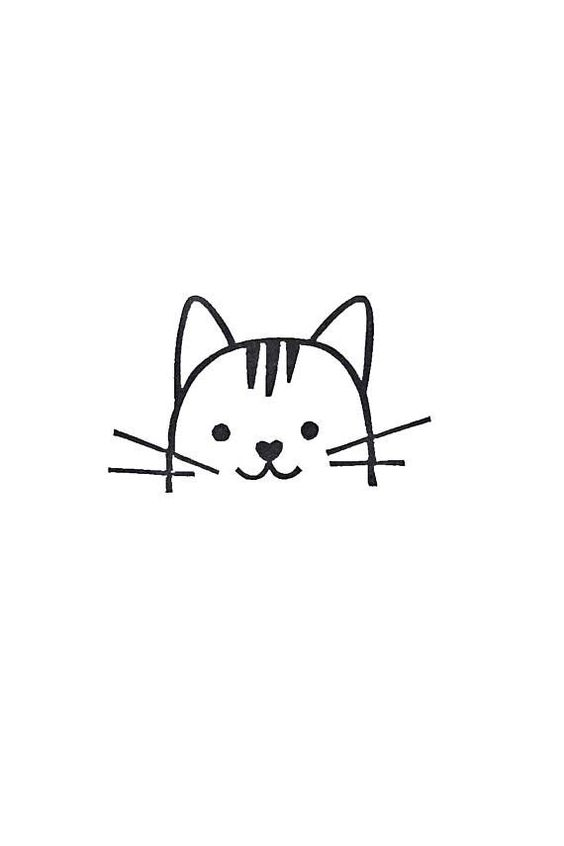 cat, cute, and easy to draw image