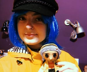buttons, coraline, and cosplay image