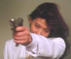 gun and girl image