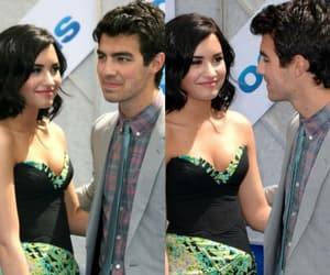 demi lovato, Joe Jonas, and throwbacks image