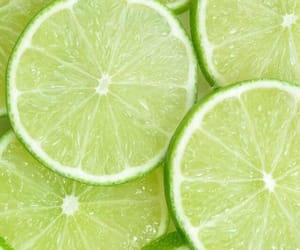 lime, fruit, and green image