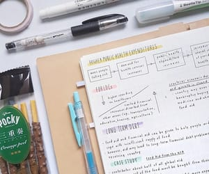 college, school, and notes image