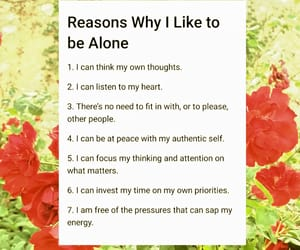 alone, empowerment, and encouragement image
