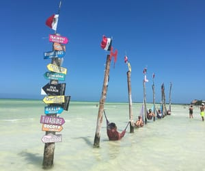 mexico, holbox, and ocean image