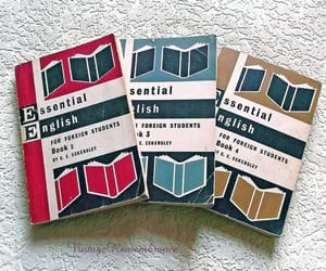 english language, etsy, and english book image
