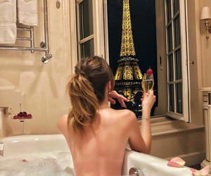 paris, girl, and relax image