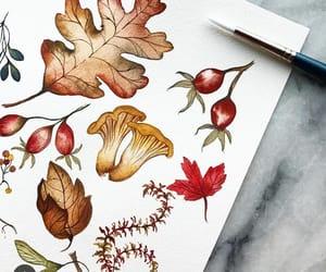 art, autumn, and beautiful image