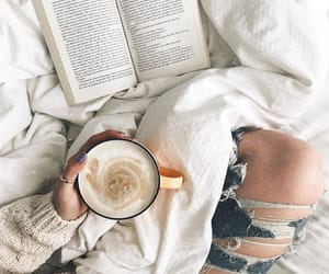 books, coffee, and white image
