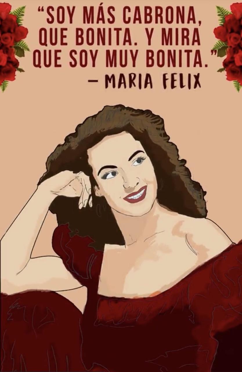 Maria Felix uploaded by Kick_The_PJ on We Heart It