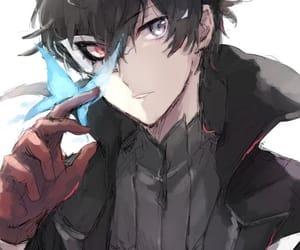 anime boy and persona 5 image
