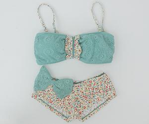bikini, summer, and blue image