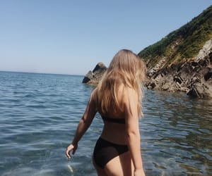 beach, water, and body positive image